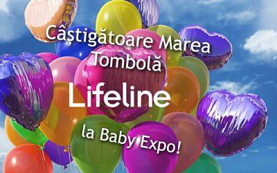 Câștigătoare Marea Tombolă Lifeline la Baby Expo 2018