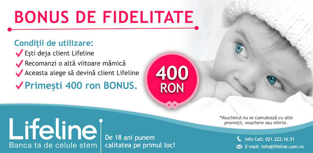 Bonus de Fidelitate Lifeline